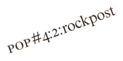 Rockpost nr204