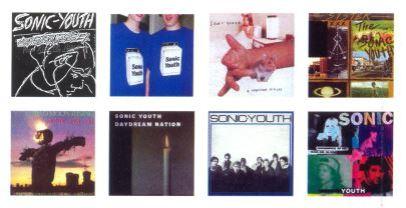 Sonic Youth på skiva